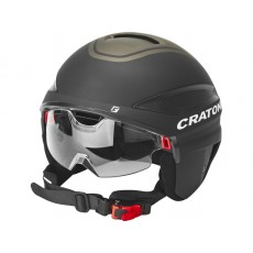 Cratoni Vigor-helm speed pedelec - ECE-R 22.05 - NTA8776 e-bike - zwart
